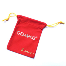 GEMMISS Natural Stone Handmade Bracelet 10cm Width Red Packing Pouch