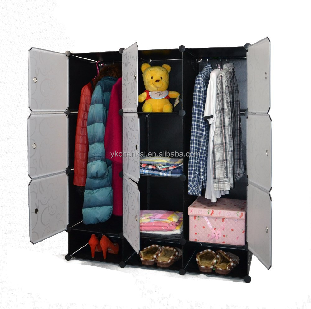 Deepen DIY child lovely wardrobe cabinet (YK-1053/YK-1056)