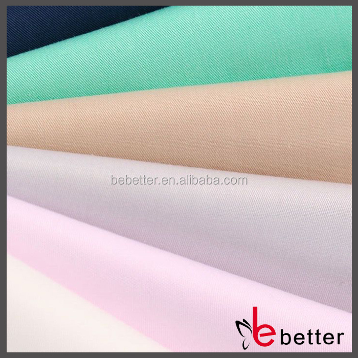 Polyester 80 Cotton 20 Poplin Fabric White and Dyed Woven Fabric