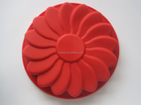 Big Size Flower Shaped Cake Mould Birthday Cake Cupcake Silicone Mould FDA LFGB