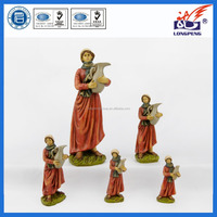 OEM Polyresin Village Collections,Figurines for Landi Nativities, Woman with Amphora