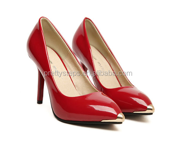 Pretty Steps brands names ladies pump shoes high heels 2014 new design
