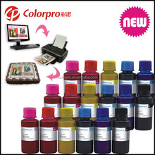 High quality edible ink for HP for canon printer and can be used for cake food or cake edible paper