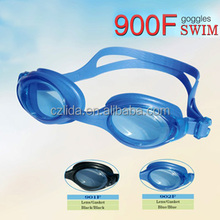 2016 high quality soft silicone prescription swim goggles 900F