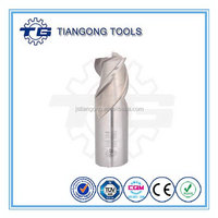 TG Tools Standard DIN844/DIN327/ANSI Size 4.0mm-25.0mm end mill for aluminum alloys cutting with BSCI/CE/ROHS/ISO