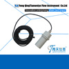 Triangular weir water open channel ultrasonic flowmeter
