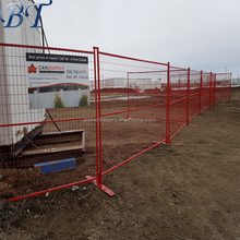 CA size movable construction site Temporary Fence (china factory direct sale)