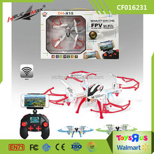 Smart Drone DH-X15 WIFI FPV real-time 3D Model Aircraft from China