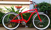 mens beach cruiser bike/adult beach cruiser bike/standard beach cruiser chopper bike