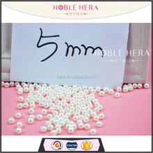 Wholesale 5mm Jewelry Beads abs Pearl W