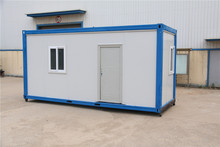 recycled shipping containerized shop scheme