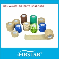 self sticky nonwoven cohesive elastic bandage for gift