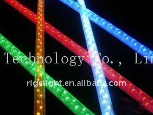 LED flat 3 lines rainbow rope