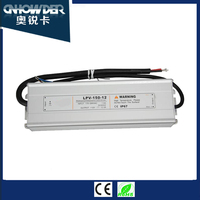 Factory price 150w 12V 24V 36V 48V neon electronic transformers/ led switching power supply/ waterproof led driver