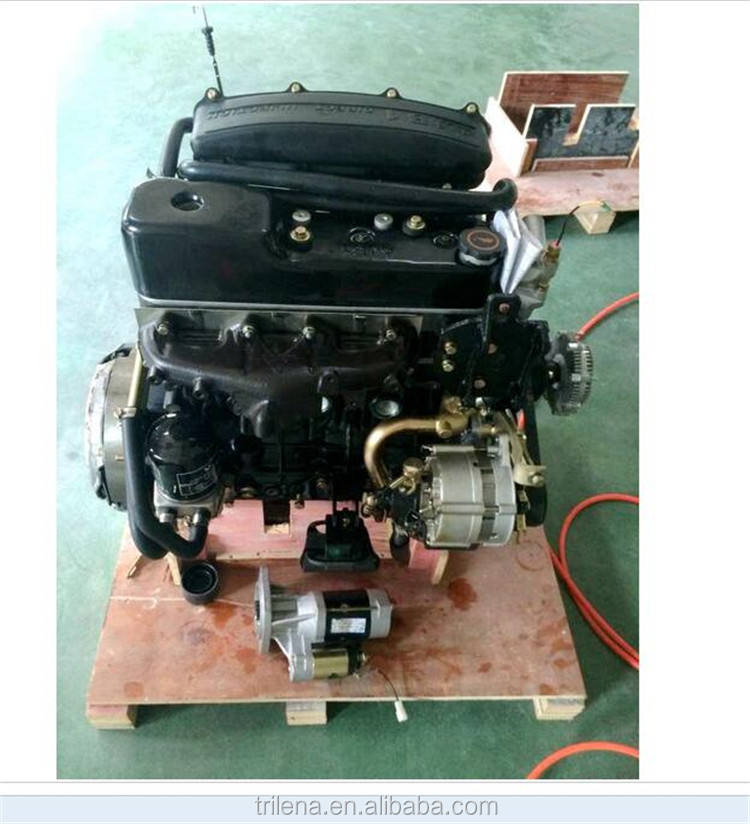 Factory Supply excellent quality Diesel Generator Set 4JB1 diesel engine from manufacturer