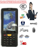 3G industrial pda with 1D /2d barcode scaner/RFID ST908