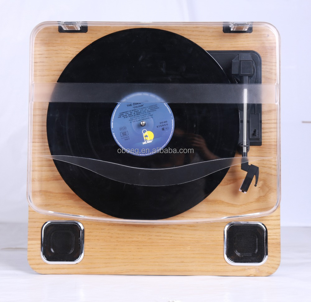 Beautiful bluetooth dj turntable usb player
