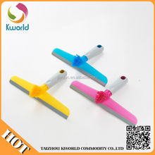 Factory wholesale Plastic Household cleaning products window squeegee with brush,water wiper