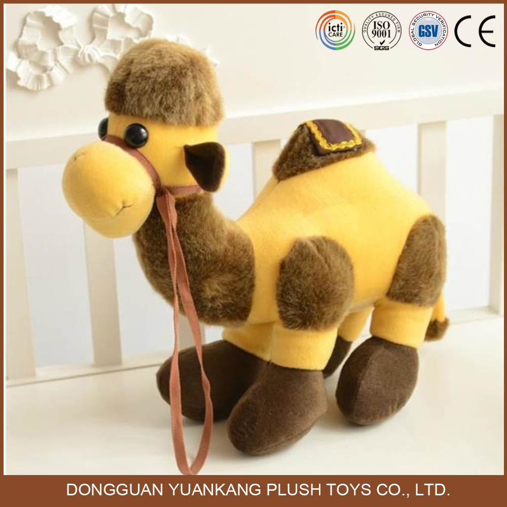 Custom Stuffed Decorative Figurines Plush Camel Toy
