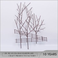 2017 Metal Branches Wall Home Decoration