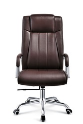 Factory sale directly middle back leather chair office chair