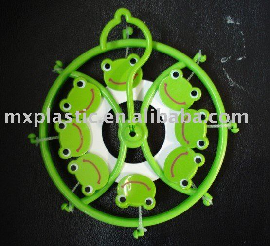 Plastic cartoon /animal mini frog hanger