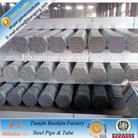 welded galvanized steel pipe