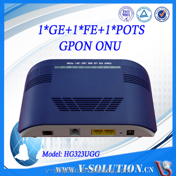 FTTH Modem WiFi Router Home Gateway Unit with 1FXS+1FE +1GE