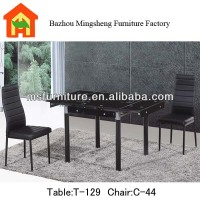 modern dining room furniture cheap extendable glass dining table