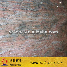 Multicolor Red granite prices india,slabs for countertop and flooring tile