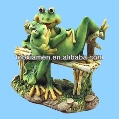 For Couple Frog Chinese Ceramic Animal Figurines