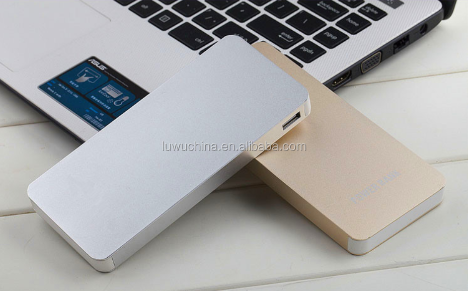 Credit card slim power bank 4000mah