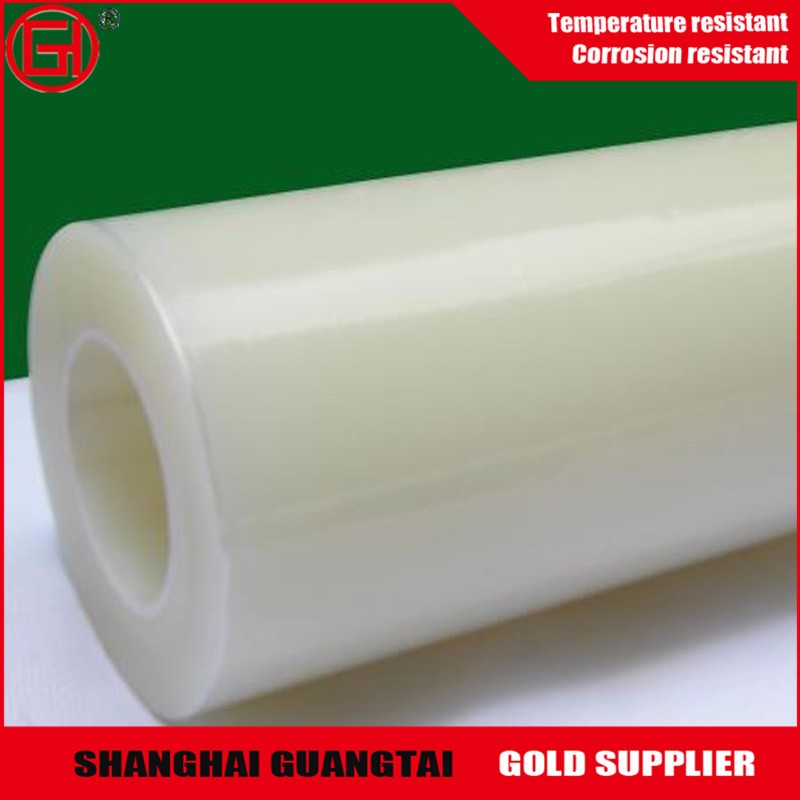 Good transparence pet silicone coated film roll for PC sun sheet