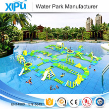 Customized giant inflatable floating water park supplies