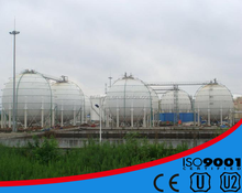 ASME standard steel chemical spherical storage tank sphere tank