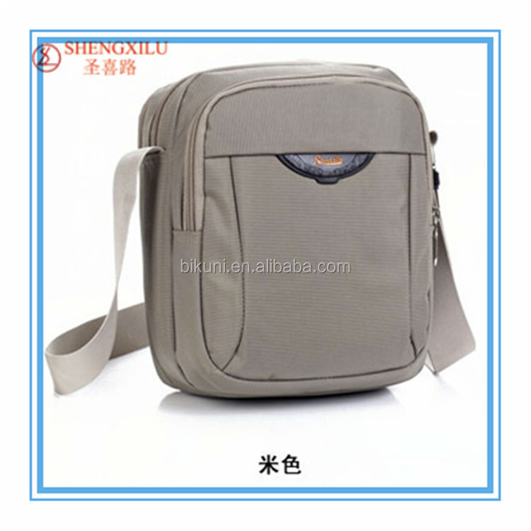 Suitable for men's 2015 <strong>new</strong> <strong>style</strong> fashionable Nylon casual sport shoulder bag and messenger bag