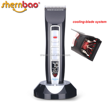 Shernbao PGC-660 profesional Electric Power Supply rechargeable hair trimmer china