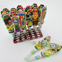 Kids Toy Candy , Skateboard Toy Candy / Mandy Shaped Candy Toys