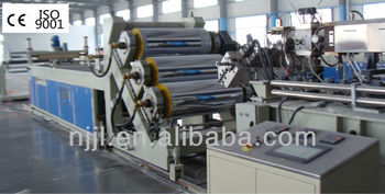 Sheet extruder/sheet extrusion line for PP/PE/PVC/ABS/PET/EVA/LDPE/HDPE sheet making