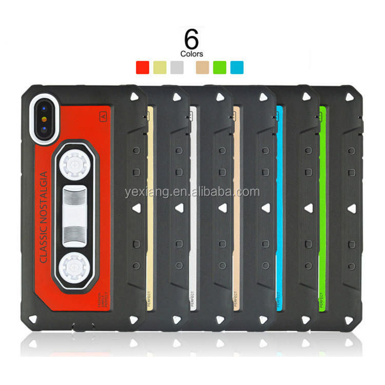 Best Selling 2 In 1 Radio Tape Phone Case For Samsung Galaxy J5 J510 Back Cover Nostalgia