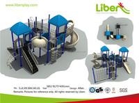 Liben preschool park children toy cheap for children plastic outdoor playgrounds