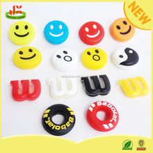 100% silicone custom tennis string vibration dampeners for tennis club