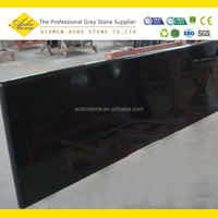 China Absolute black kitchens granite countertops pictures