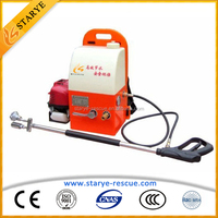 Fire Fighting System Honda Engine Backpack Water Mist Fire Extinguisher