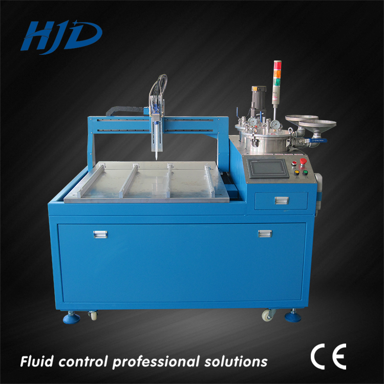 Automated AB glue filling machine