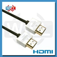UL CE certified high speed 2.0 version small hdmi cable for 4k 2k