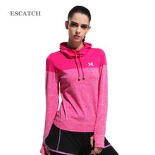 Autumn GYM Round Neck long Sleeve women comfortable running shirts