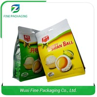 Dependable Factory PET AL Wheat Flour Packaging Bags