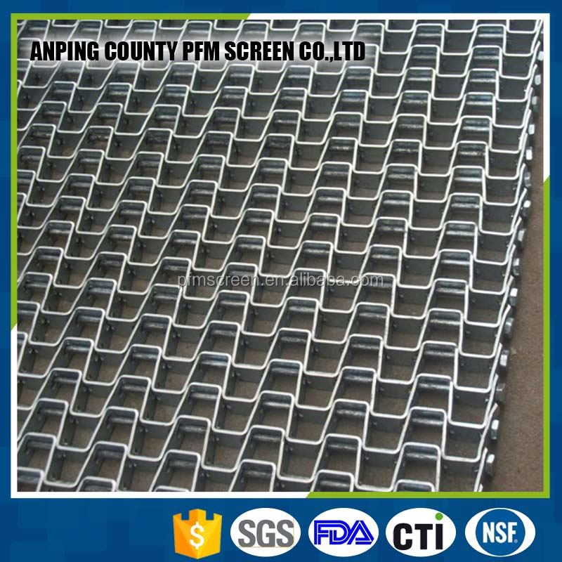 Manufacture Stainless Steel Wire Conveyor Belt Mesh With Chain