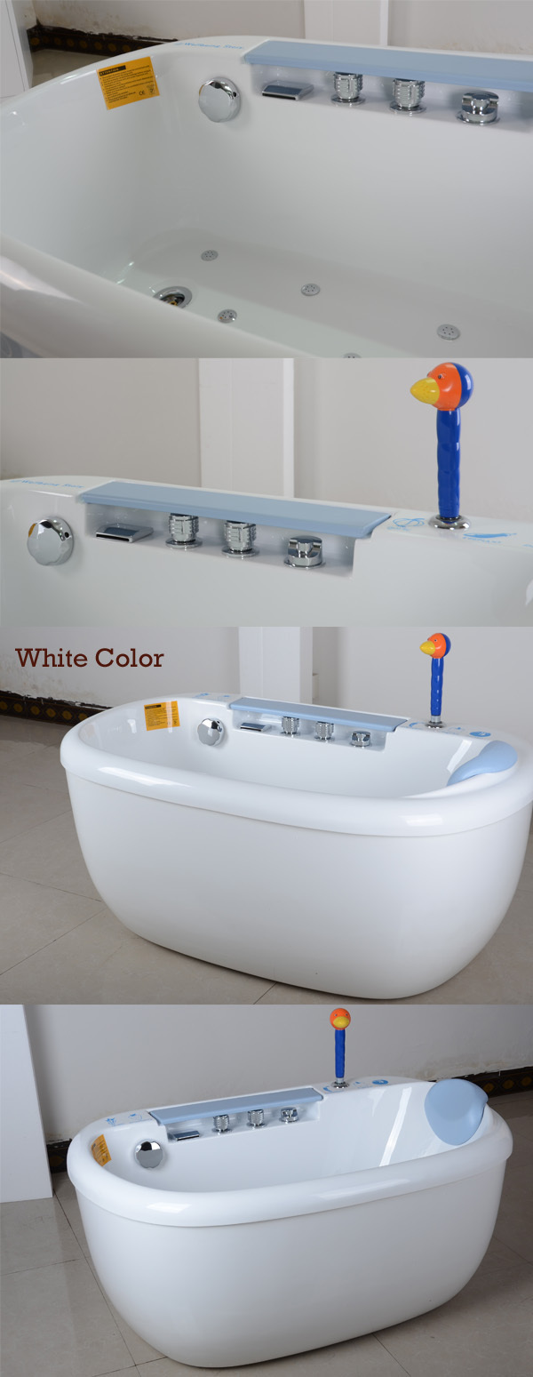 HS-B01 indoor cold and hot water control 20 inch deep red baby bath ...